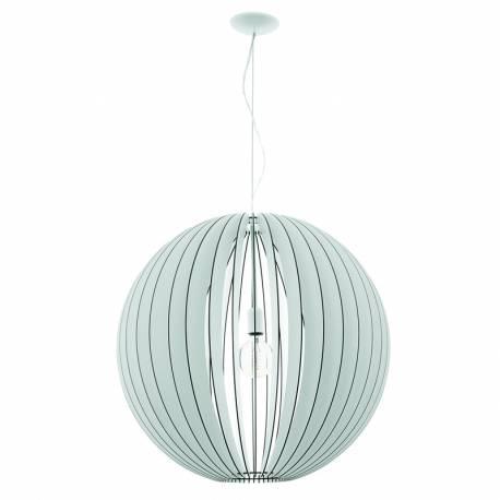 Пендел-висяща лампа 1хE27 Ø700 бяло COSSANO
