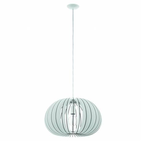 Пендел-висяща лампа 1хE27 Ø450 бяло COSSANO