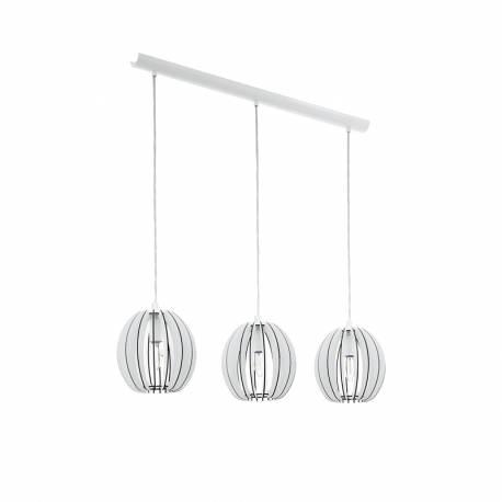 Пендел-висяща лампа 3хE14 бяло COSSANO