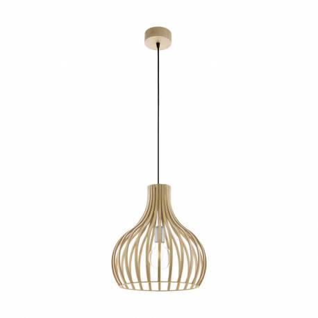 Пендел-висяща лампа 1 E27 натюр/никел мат CARNICO