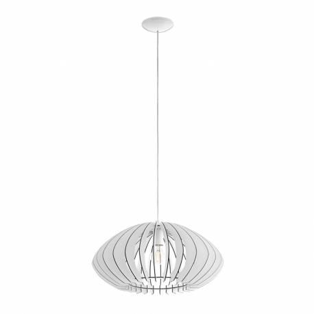 Пендел-висяща лампа 1хЕ27 Ø500 бяло елипса COSSANO 2