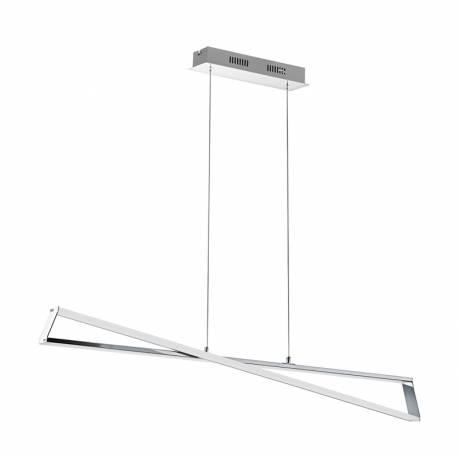 Пендел-висяща лампа LED 30W 1950lm хром/бяло AGRELA