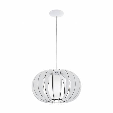 Пендел-висяща лампа 1хE27 Ø400 бяло цил.ст STELLATO 3