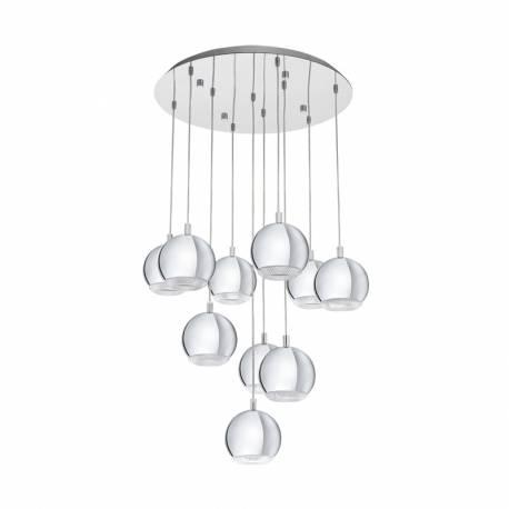 Пендел-висяща лампа 10хGU10-LED хром CONESSA