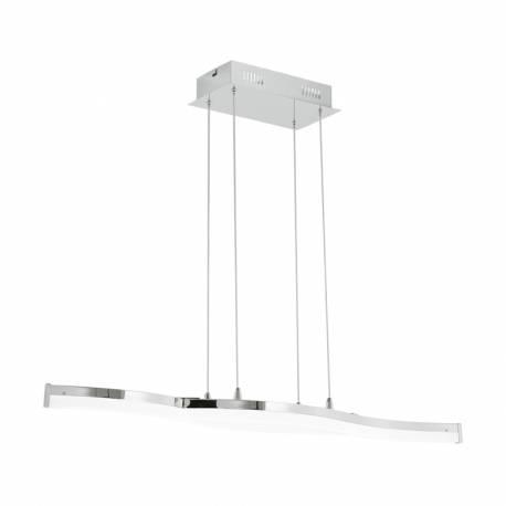 Пендел-висяща лампа LED 2x10,5W 2x1300lm L-960 хром/бяло LASANA 2