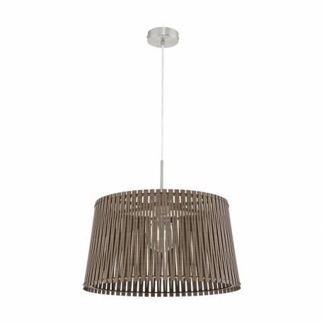 Пендел-висяща лампа 1хE27 Ø450 тъмнокаф. SENDERO