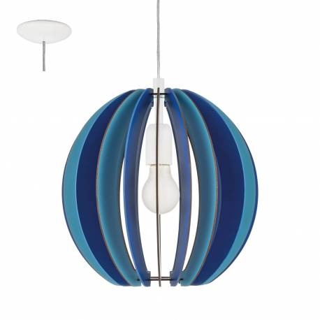 Пендел-висяща лампа 1хE27 синьо FABELLA