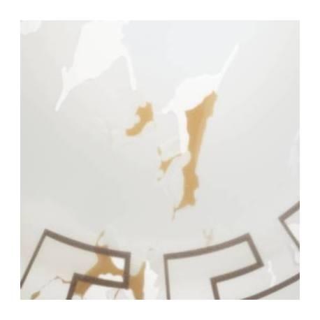Пендел-висяща лампа 1хЕ27 Ø350 бяло античен декор VETRO