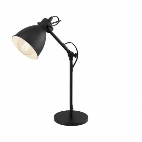 Настолна лампа 1хE27 черно PRIDDY