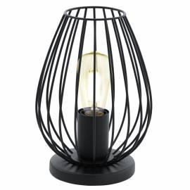 Настолна лампа 1хE27 черно NEWTOWN