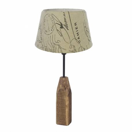Настолна лампа 1хE14 Настолна лампатурален/щампа RINSEY