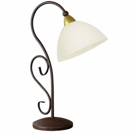 Настолна лампа 1хE14 антично -кафяво MEDICI