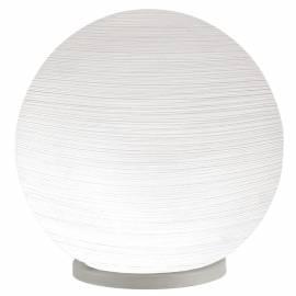 Настолна лампа 1хЕ27 Ø200 сребр./бяло лин MILAGRO