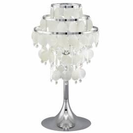 Настолна лампа 1хЕ27 хром/седеф/кристали CHIPSY