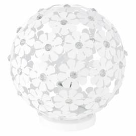 Настолна лампа 1xE27 бели цв./кристал NIFA