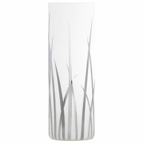 Настолна лампа 1xE14 хром/бяло с декор RIVATO
