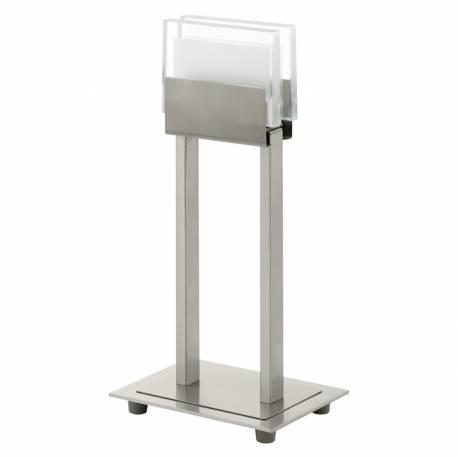 Настолна лампа LED 1х5,8W никел-мат /прозр.-сат. CLAP 1