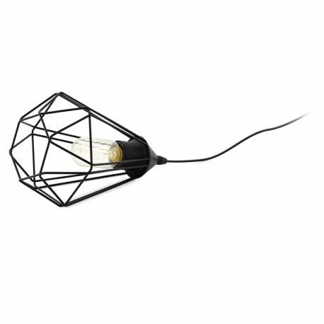 Настолна лампа 1хE27 черно-мат TARBES