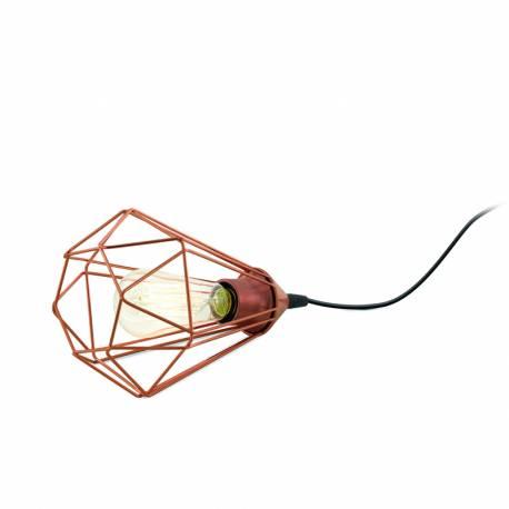 Настолна лампа 1хE27 мед. цвят TARBES