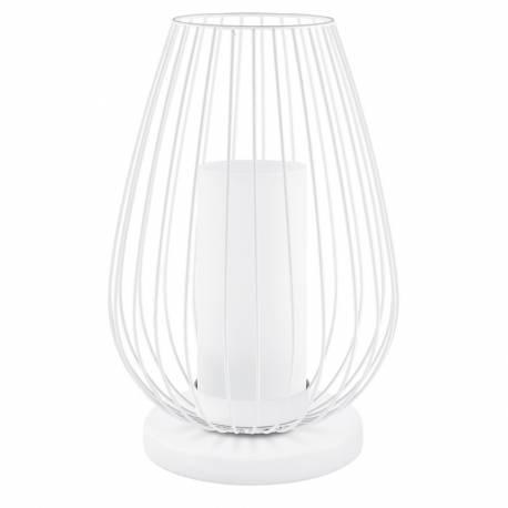 Настолна лампа LED 1х6W 600lm бяло/хром VENCINO