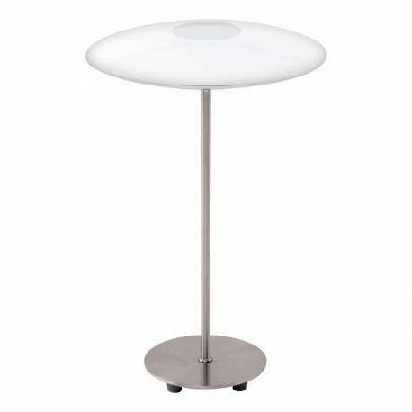 Настолна лампа LED 1х4,5W 460lm никел-мат/бяло MILEA 1
