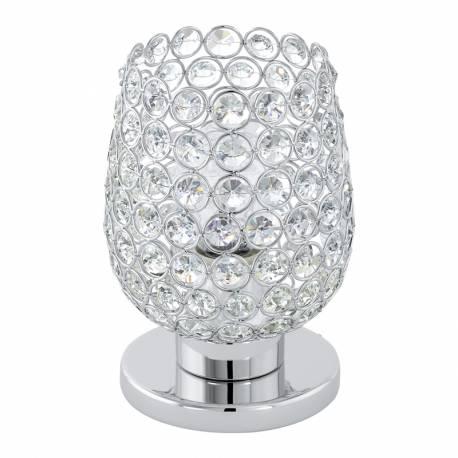 Настолна лампа 1хE27 хром/прозр. BONARES 1