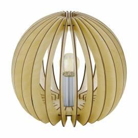 Настолна лампа 1хE27 ребра клен Ф260 COSSANO