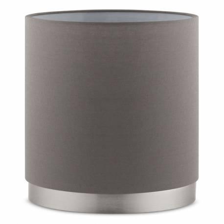 Настолна лампа 1хЕ27 тъч никел-мат/сиво-кафяво PASTERI