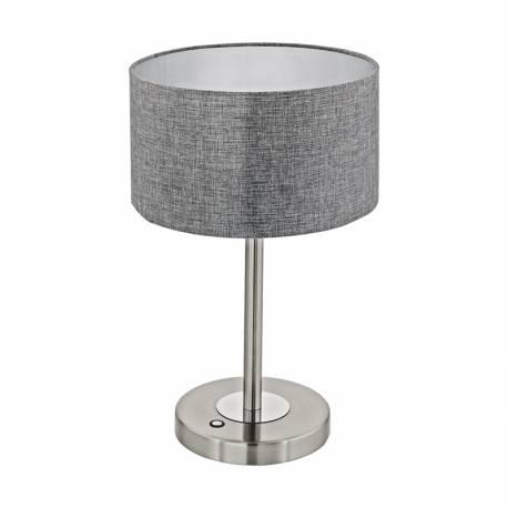 Настолна лампа LED 12W 1020lm никел мат/сиво ROMAO