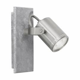 СПОТ 1хGU10 бетон/никел-мат PRACETA
