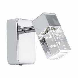 СПОТ LED 1x3,3W 340lm хром/прозр.мех. CANTIL