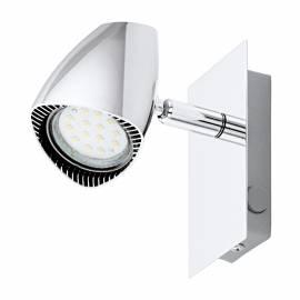 СПОТ LED 1x3W GU10 с ключ хром CORBERA