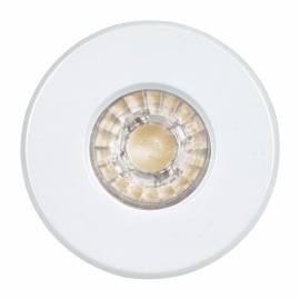 СПОТ LED 1xGU10 3,3W 240lm IP 44 луна за вграждане. Ø85 бяло IGOA
