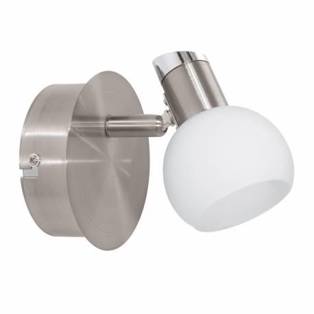 СПОТ LED 1х3,3W 340lm никел-мат/хром/бяло SESTO 2