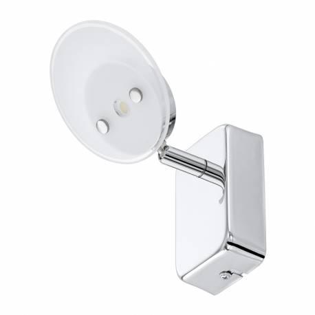 СПОТ LED 1х3,3W 340lm хром/бяло ERVAS