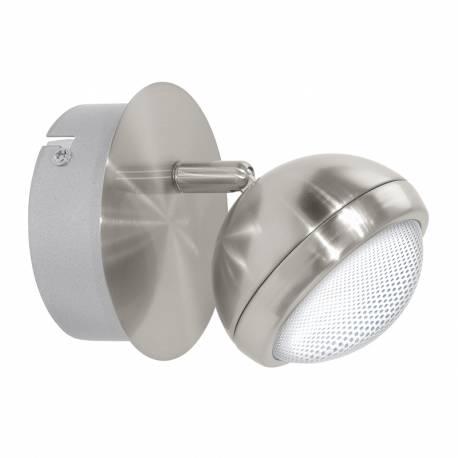 СПОТ LED 1х4,2W 480lm никел-мат/прозр. LOMBES 1