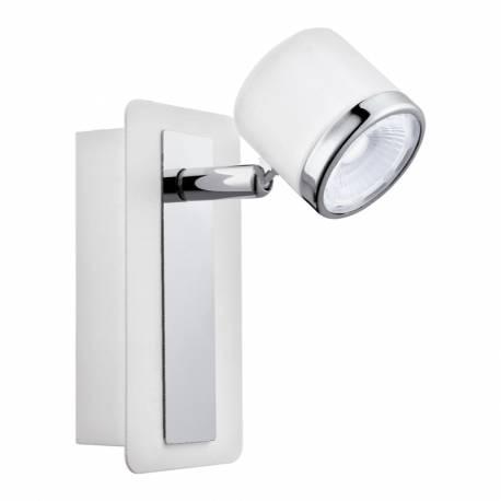 СПОТ LED 1х5W 480lm бяло/хром PIERINO 1