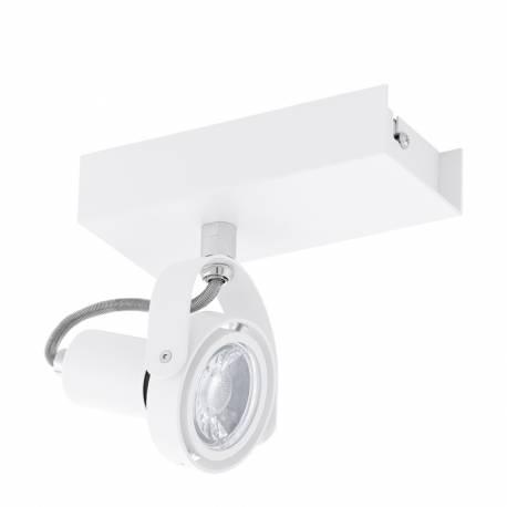 СПОТ LED 1х5W GU10 350lm бяло NOVORIO 1