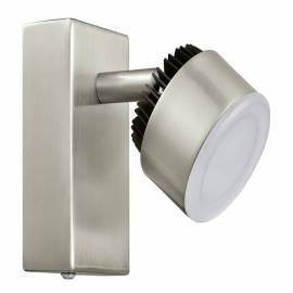 СПОТ LED 1х6W  никел-мат /черно ARMENTO 1