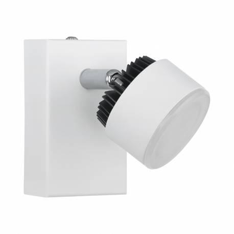СПОТ LED 1х6W бяло /черно ARMENTO