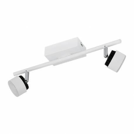 СПОТ LED 2x6W бяло /черно ARMENTO