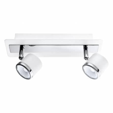 СПОТ LED 2х5W 960lm бяло/хром PIERINO 1