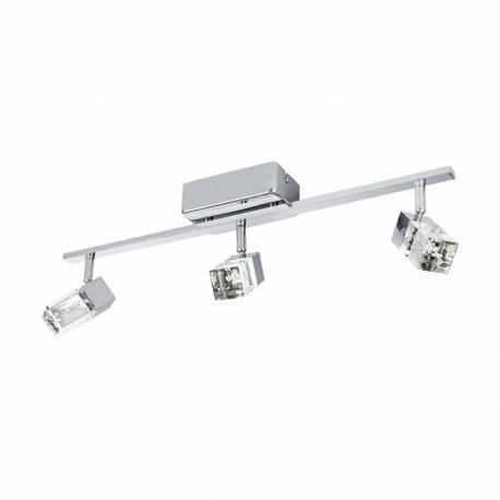 СПОТ LED 3x3,3W 3x340lm хром/прозр.мех. CANTIL