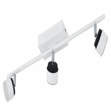 СПОТ LED 3x6W бяло /черно ARMENTO