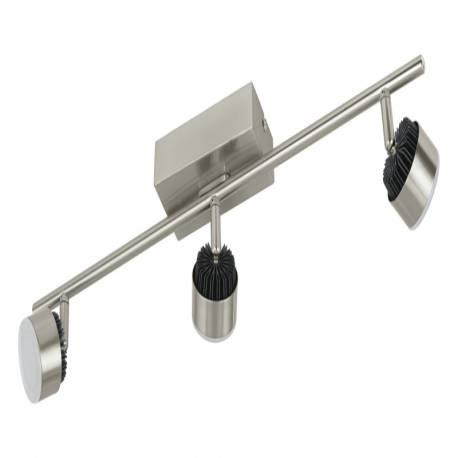 СПОТ LED 3x6W никел-мат /черно ARMENTO 1