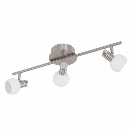 СПОТ LED 3х3,3W 1020lm никел-мат/хром/бяло SESTO 2