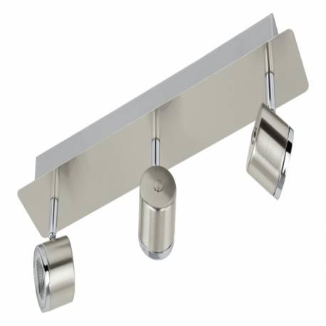 СПОТ LED 3х5W никел-мат/хром PIERINO