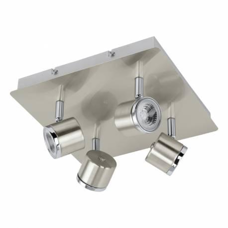 СПОТ LED 4x5W никел-мат/хром PIERINO