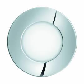 СПОТ луна за вграждане. LED 2,7W 210lm IP44 Ø85 хром 3000K FUEVA 1