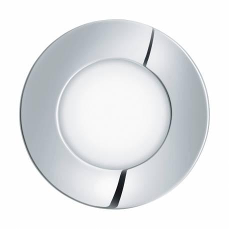 СПОТ луна за вграждане. LED 2,7W 210lm IP44 Ø85 хром 4000K FUEVA 1